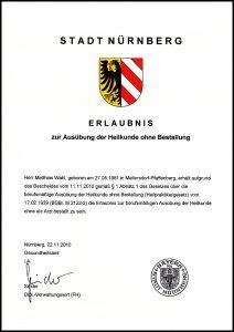 Urkunde HP